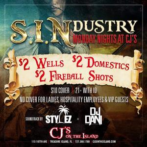 Hospitality Sin-Dustry Night