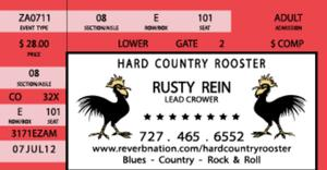 Hard Country Rooster