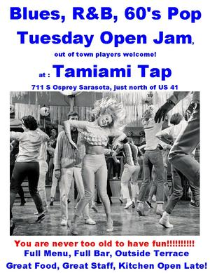 Sarasota Blues Jam at Tamiami Tap
