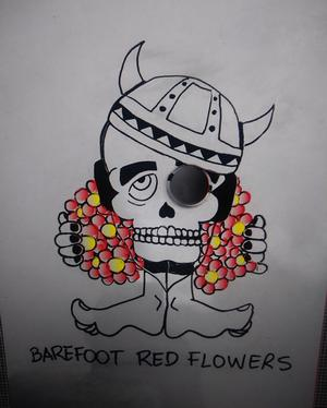 BarefootRedFlowers