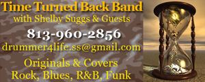 Time Turned Back Band - Shelby Suggs